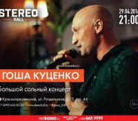 Большой концерт в «Stereo Hall»