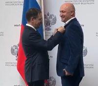 Гоша Куценко получил медаль ордена «За заслуги перед Отечеством» II степени